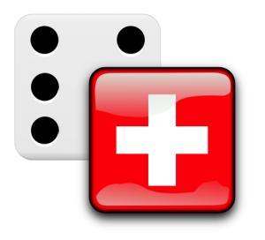 dé drapeau suisse